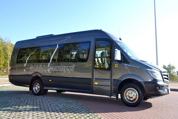 MERCEDES SPRINTER 519 EURO VI (22+1+1) WiFi VIP LEATHER WOOD TV 230V