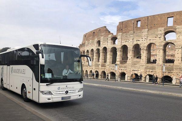 Mercedes-Benz Tourismo 15 RHD / EURO 6 / Production year 2018 / plates: WGM 36157