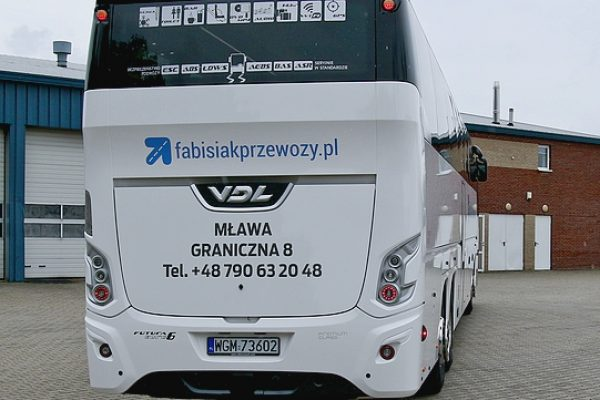 Tourist coach VDL FUTURA 149.460, EURO 6